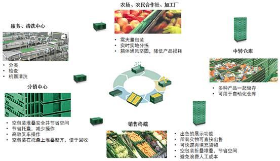 生鲜农产品物流器具租赁与服务
